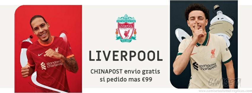 Camiseta Liverpool replica 21-22